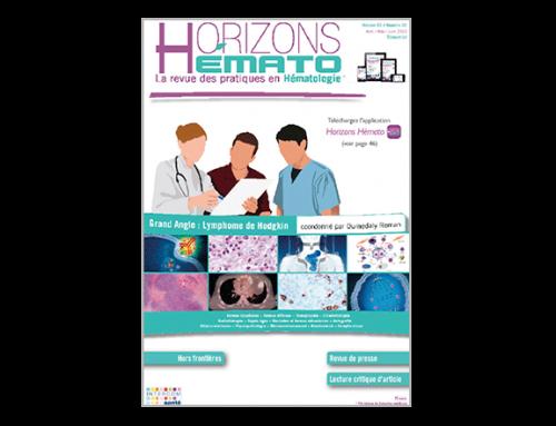 Horizons Hémato – Vol. 3 n°2 – Juin 2013