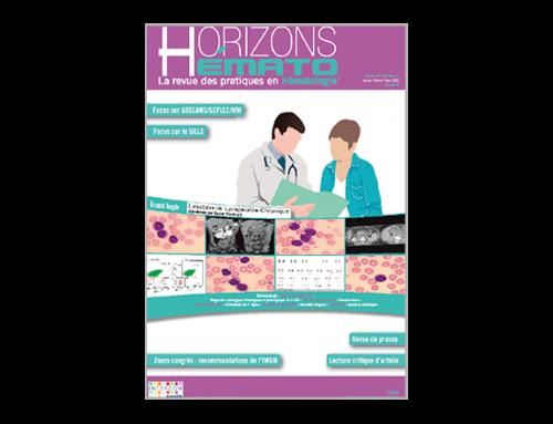 Horizons Hémato – Vol. 2 n°1 – Mars 2012
