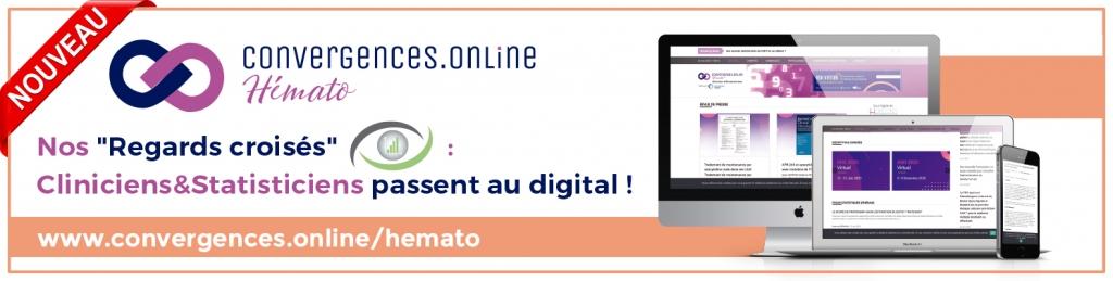 Découvrez notre nouvelle plateforme. www.convergences.online/hemato